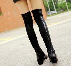 Botas altas por encima de las rodillas - doble efecto