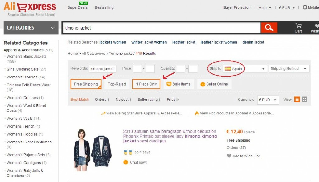 Tutorial de compra en Aliexpress