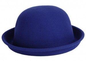Fedora sombrero azul