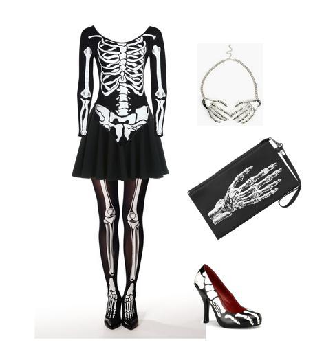 Disfraces originales para Halloween - Esqueleto