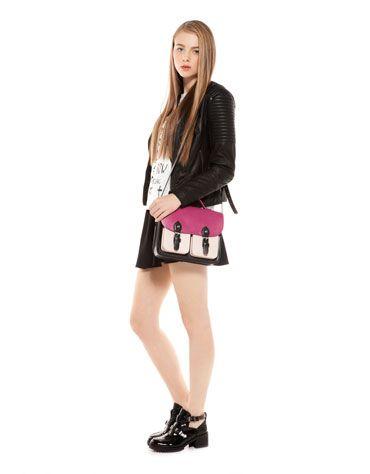 Estilo grunge de la nueva colección de Bershka - Pink bag