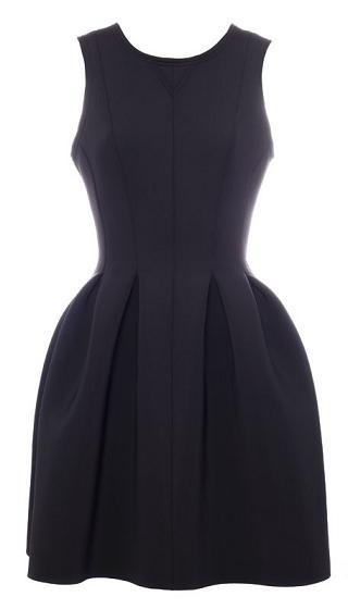 Vestidos de neopreno - Negro Pull&Bear