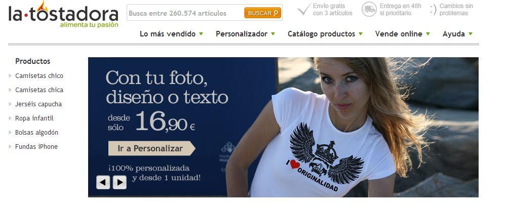 Tiendas online - La Tostadora