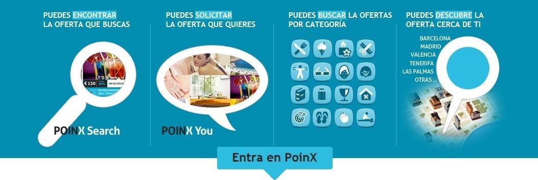 Ofertas y descuentos en tu ciudad con Poinx