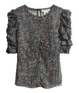 Isabel Marant para H&M - Blusa de seda 60€
