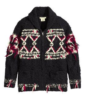 Isabel Marant para H&M - Cárdigan de lana unisex 129€
