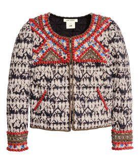 Isabel Marant para H&M - Chaqueta bordado perlas 299€