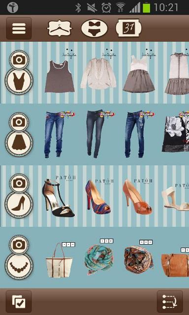 Aplicaciones de moda para Android - DressApp