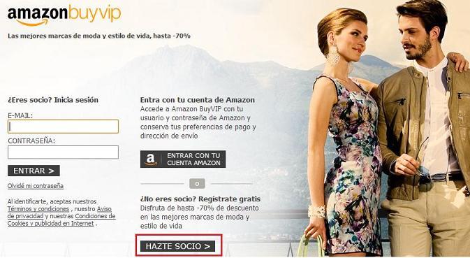 Club de venta privada online - Hazte socio en BuyVip
