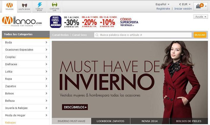 Donde comprar ropa barata online - Milanoo