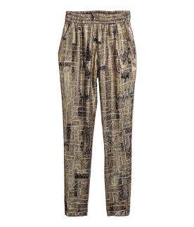 Isabel Marant para HyM - Pantalones de seda 80€