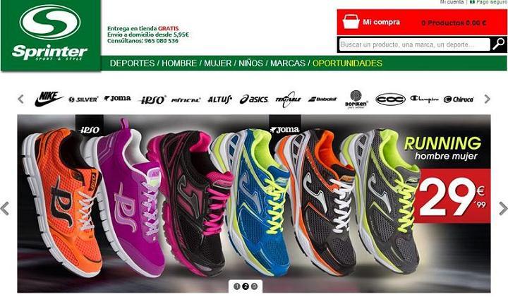Dónde comprar ropa deportiva online - Sprinter