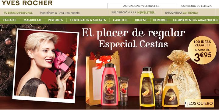 Dónde comprar cosméticos naturales - Yves Rocher