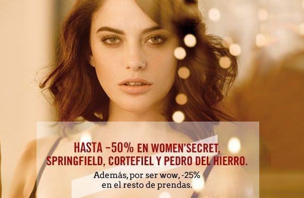 Women'Secret y el Club Wow para conseguir ropa interior barata