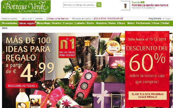 Dónde comprar cosméticos naturales - Bottega Verde