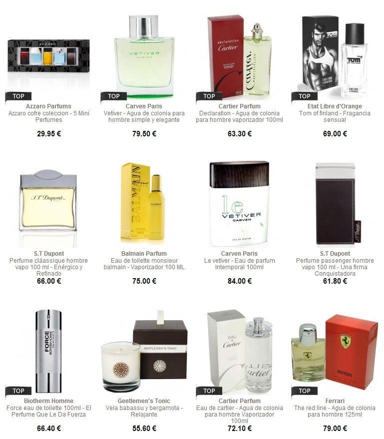 Perfumes baratos para hombres con Mencorner