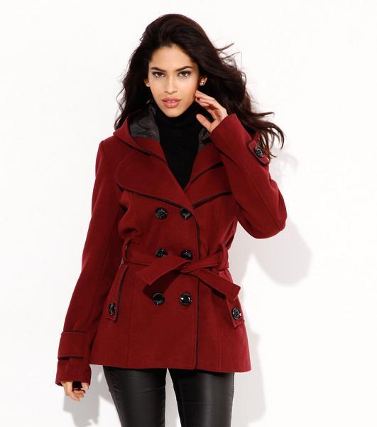 Abrigos de mujer a precios irresistibles - Rojo