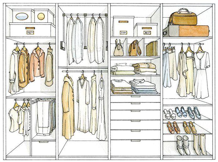 C mo ordenar tu armario y no morir en el intento tu moda online - Como ordenar tu armario ...