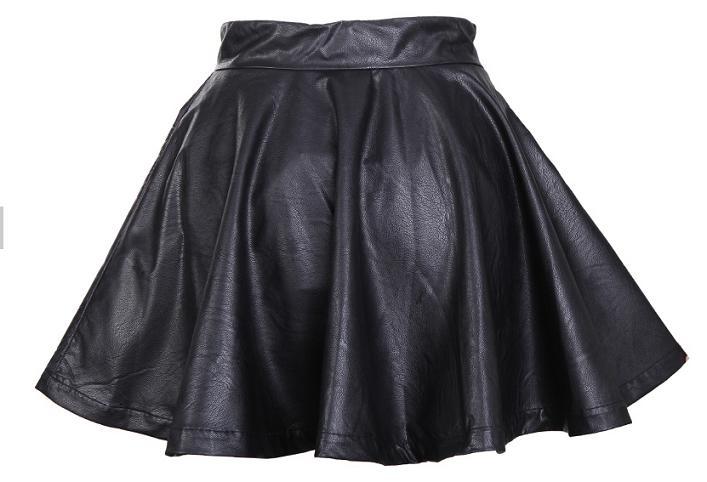 Ropa y complementos online - Falda de cuero
