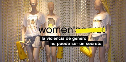 Women'Secret y su ropa interior barata. Campaña Violencia de genero