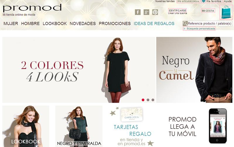 Tienda online Promod