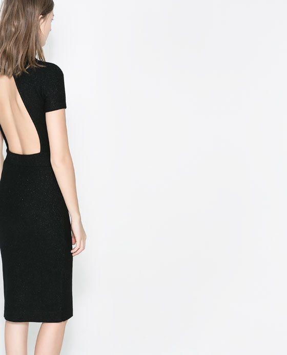 Rebajas de Zara - Vestido espalda descubierta