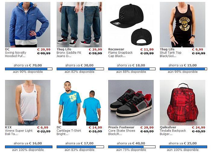 Ropa de hip hop barata online - Ofertas Def Shop