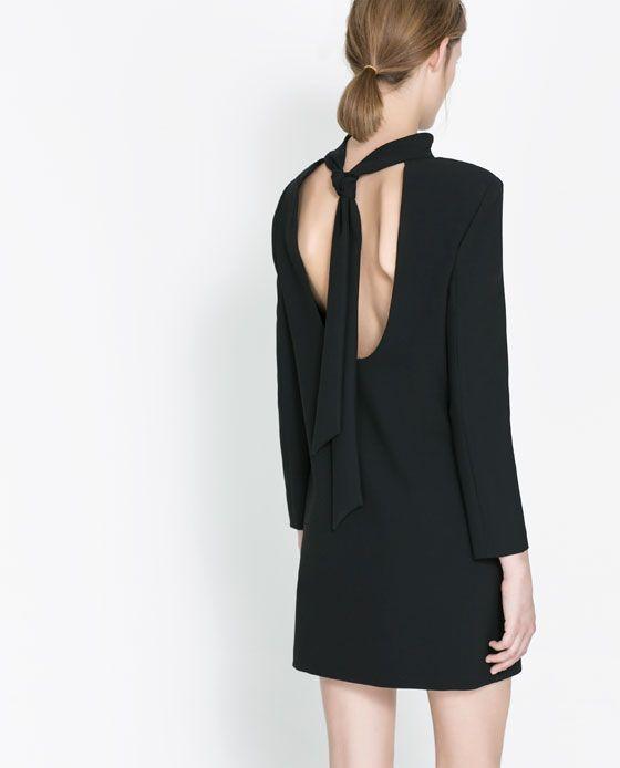 Rebajas de Zara 2014 - Espalda anudada
