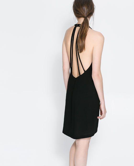 Rebajas de Zara 2014 - Vestido tiras espalda