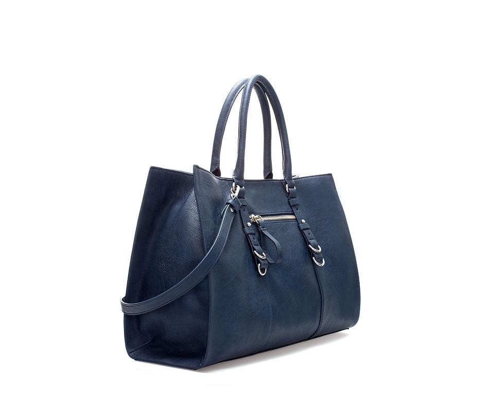 Comprar bolsos baratos - Shopper azul