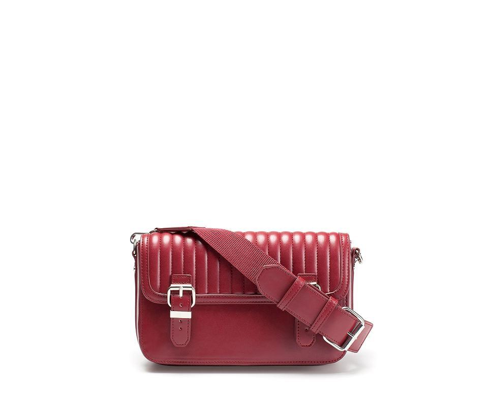 Comprar bolsos baratos - Bandolera acolchada roja