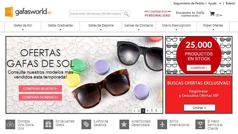 Donde comprar gafas de sol a buen precio
