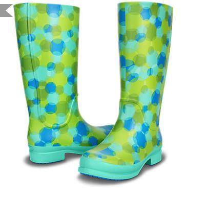 Últimas tendencias en zapatos - Botas de agua