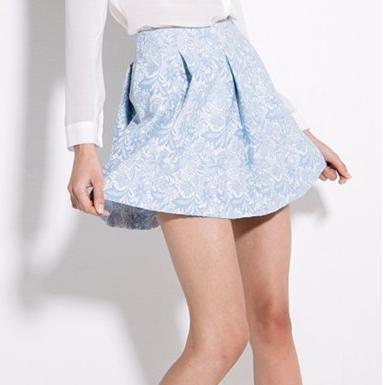 El color de moda para el 2014 - Falda