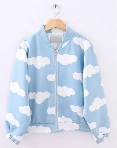 El color de moda para el 2014 - Chaqueta nubes