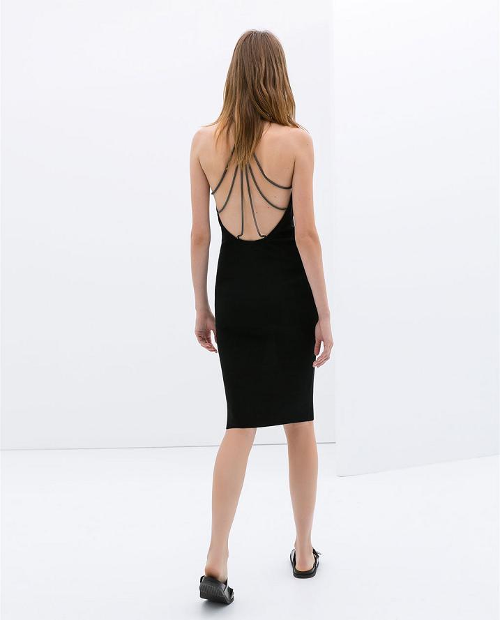 Cómo llevar vestidos con la espalda al aire
