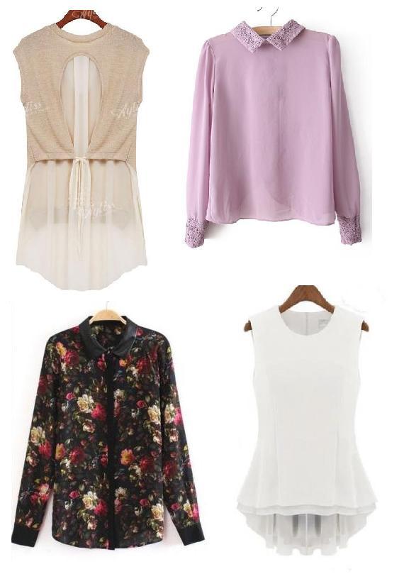 Últimas tendencias en camisas para mujer