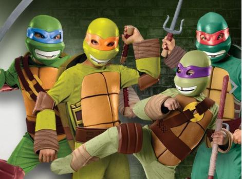 Disfraces baratos y originales online - Tortugas ninja