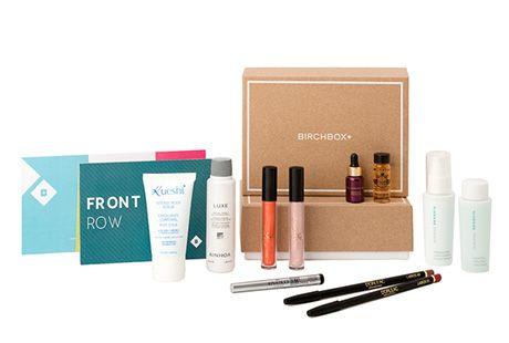 Productos de belleza online con Birchbox