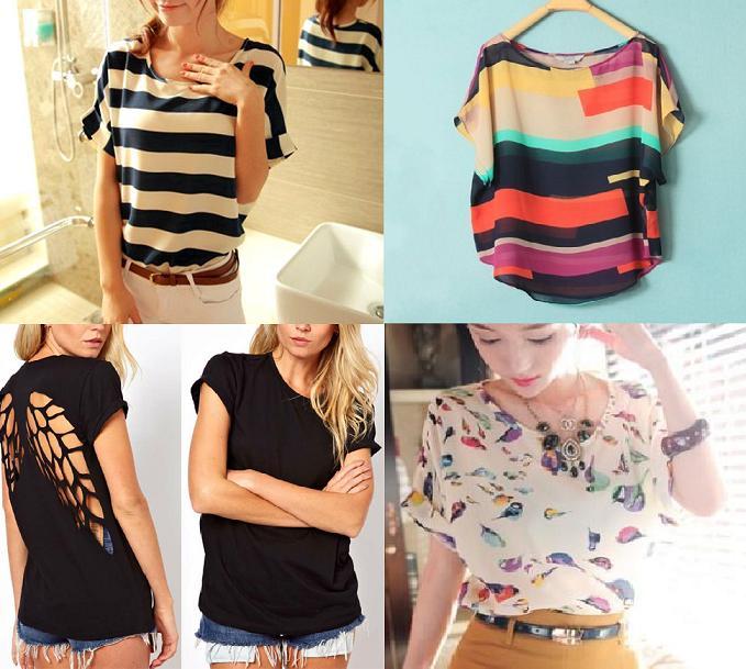 Selección de camisetas primavera verano 2014