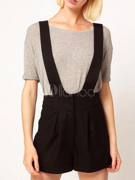 Pantalones cortos de vestir para mujer