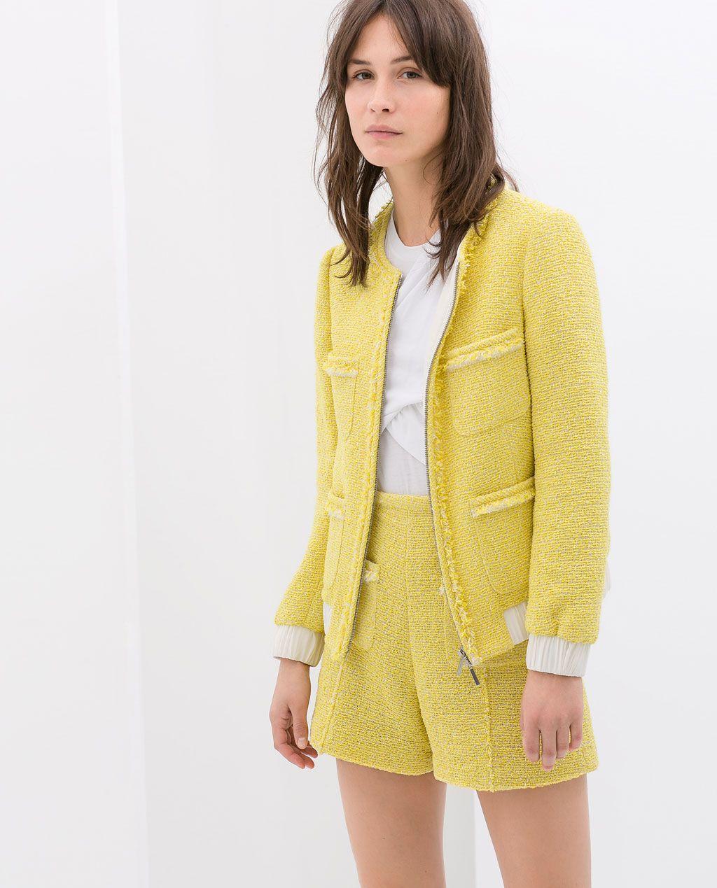 Color de moda para el verano - Pantalón y chaqueta