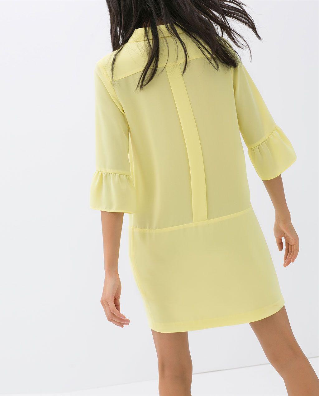 Color de moda para el verano - Vestido ligero