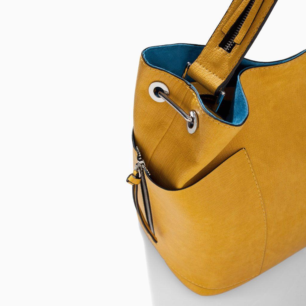 Color de moda para el verano 2014 - Bolso saca