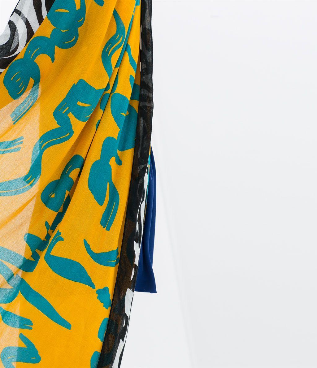 Color de moda para el verano - Pañuelo