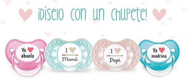 chupetes personalizados para bebés con Tutete