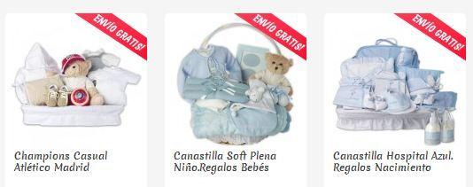 canastillas para bebés online