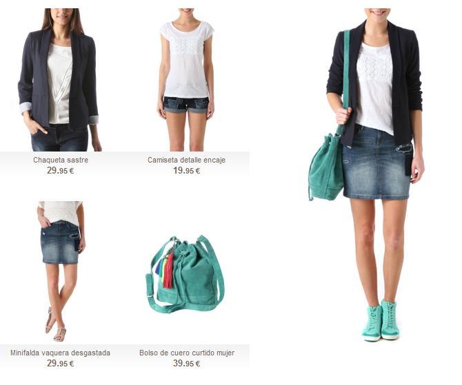Cómo combinar una americana para ir de shopping