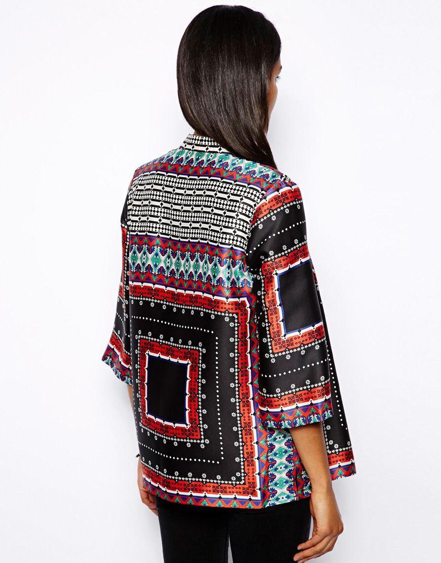 Chaquetas kimono online - Geométrica