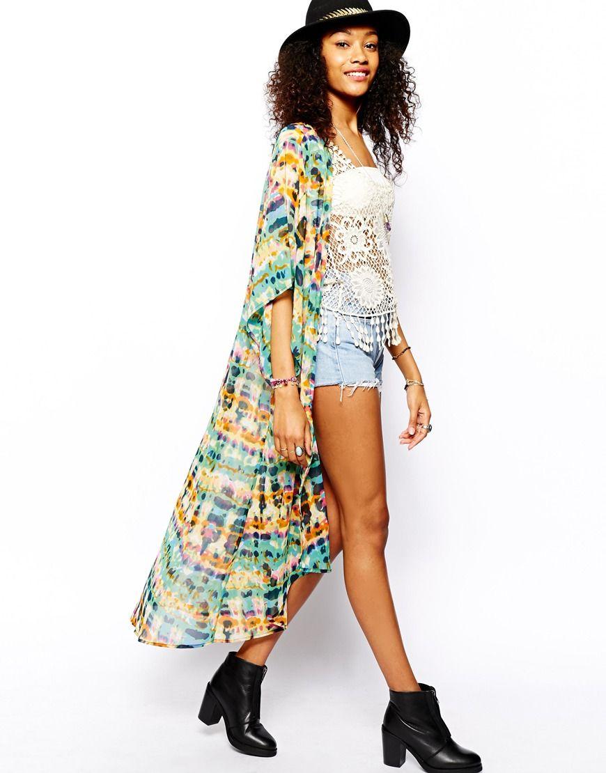 Chaqueta kimono online - Largo maxi